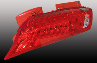 Plastic Injection Molds, Taillights Headlights
